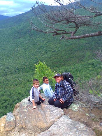 Outlook atop Frankenstein Cliffs (photo by Bill Mahony)
