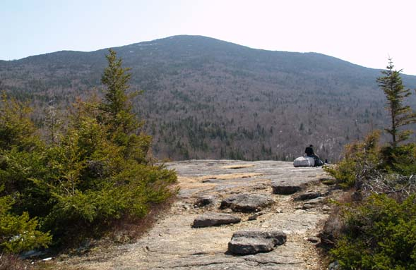 View of Kinsman Ridge from Bald Peak (photo by Webmaster)