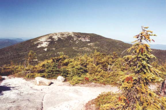 View of East Peak from West Peak (photo by Webmaster)