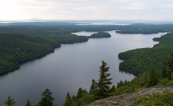 Long Pond and beyond (photo by Webmaster)