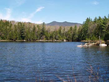 Hike New England Black Pond And Franconia Falls