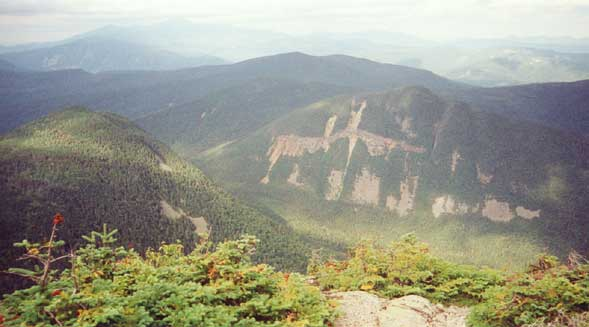 Cliffs of Mt. Lowell seen from Signal Ridge (photo by Webmaster)