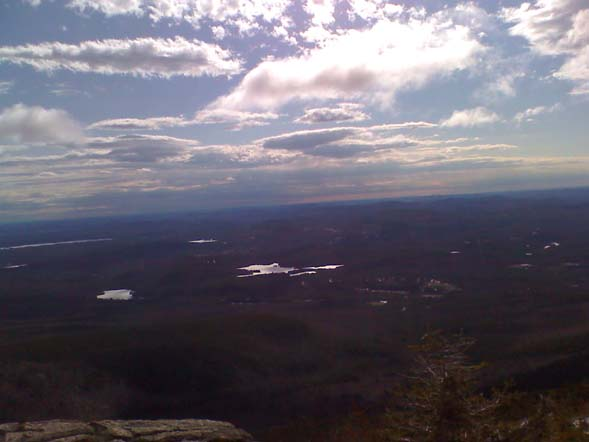 Looking south from the summit of Mt. Chocorua (photo by Bill Mahony)