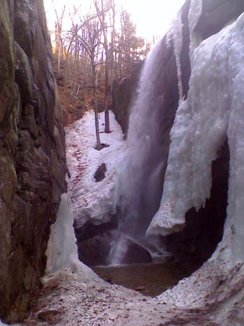Pitcher Falls (photo by Bill Mahony)