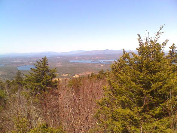 View from Copple Crown Mountain (photo by Bill Mahony)