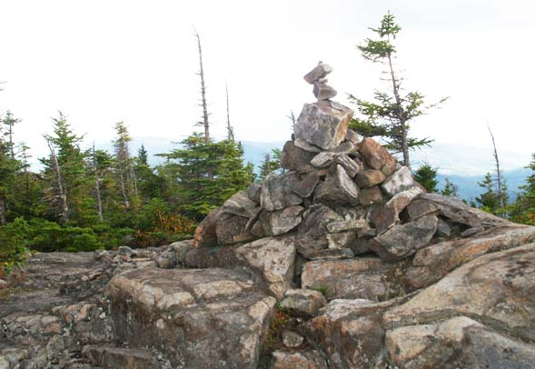 The summit of Eastman Mountain (photo by Webmaster)