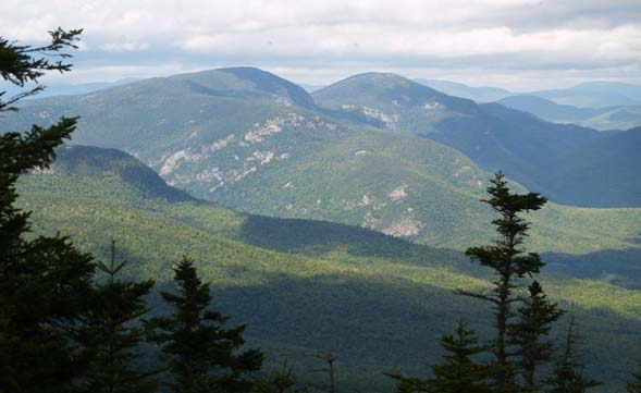 View north from the summit of Eastman Mountain (photo by Webmaster)