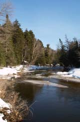 Swift River (photo by Webmaster)