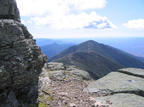 View of Franconia Ridge (photo by Mark Malnati)