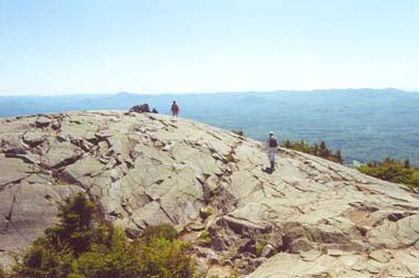 Mount Kearsarge Summit (photo by Sal Silvestre)