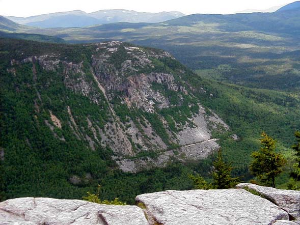 Whitewall Mtn. from Zeacliff Outlook - Jim's favorite viewpoint of the White Mountains (photo by James Horner)