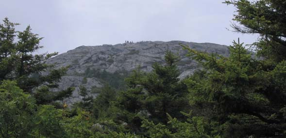 Mount Monadnock's summit (photo by Mark Malnati)