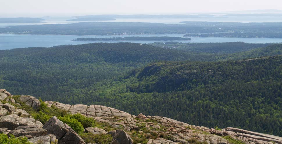 View from Pemetic Mtn. (photo by Webmaster)