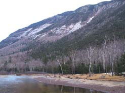Saco River and Webster Cliffs (photo by Webmaster)