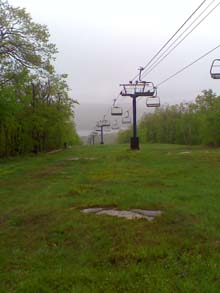 Wachusett Mountain Chair Lift (photo by Bill Mahony)