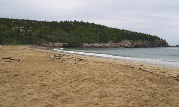 Sand Beach (photo by Webmaster)