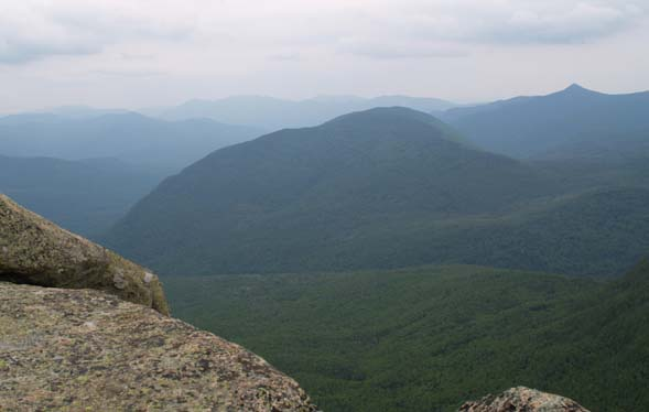 View from the summit of Mount Garfield (photo by Webmaster)