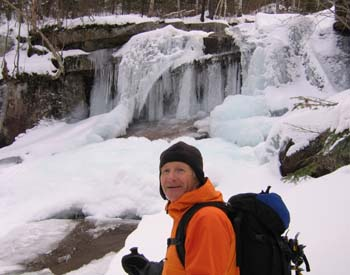 Jack at Champney Falls (photo by Mark Malnati)